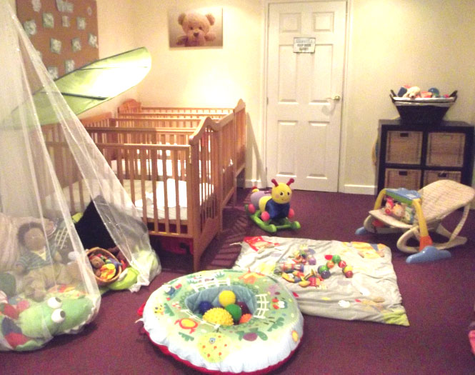 Baby Day Care Room