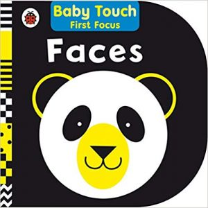 Baby Touch high contrast book